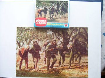 Planet of the Apes Vintage 224 Piece Jigsaw 1974 RARE